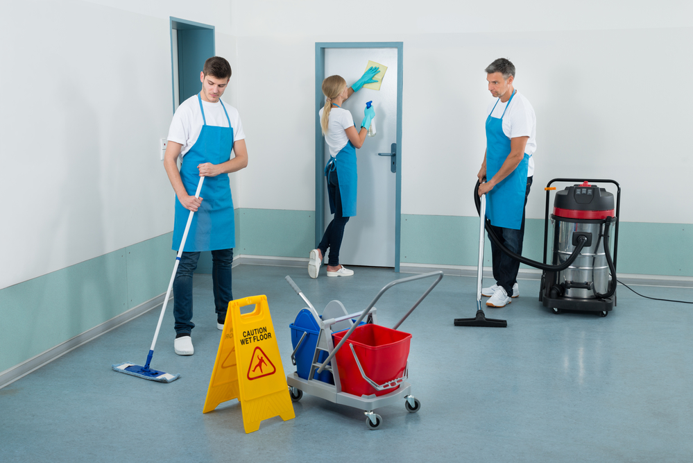 janitorial cleaners in Asheville, NC